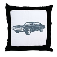 1969 Chevrolet Chevelle 396 S Throw Pillow