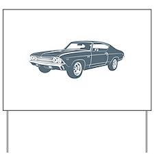 1969 Chevrolet Chevelle 396 S Yard Sign