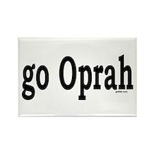 go Oprah Rectangle Magnet (100 pack)