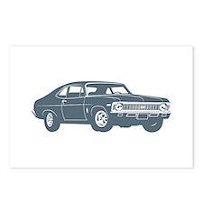 1968 Chevrolet Nova SS 396 Postcards (Package of 8