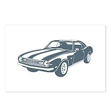 1968 Chevrolet Camaro Z28 Postcards (Package of 8)