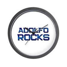 adolfo rocks Wall Clock