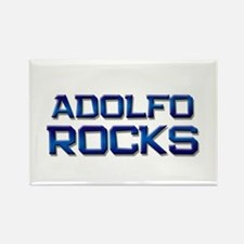 adolfo rocks Rectangle Magnet