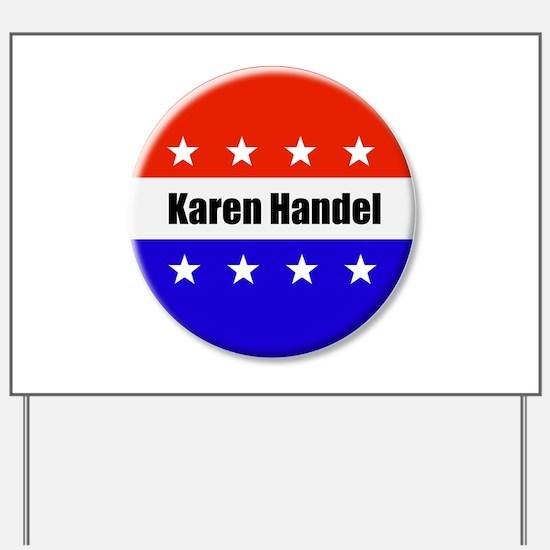 Karen Handel Yard Sign