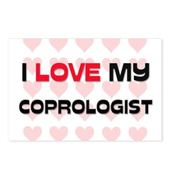 I Love My Coprologist Postcards (Package of 8)