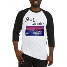 Ghost Hunter's Ghost Town Baseball Jersey