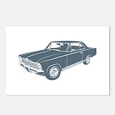 1966 Chevrolet Nova SS Postcards (Package of 8)