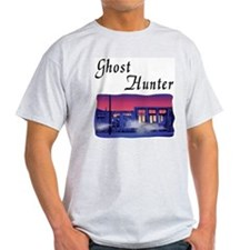Ghost Hunter's Ghost Town Ash Grey T-Shirt