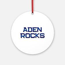 aden rocks Ornament (Round)