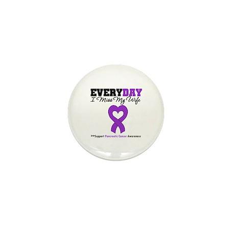 PancreaticCancer Wife Mini Button (10 pack)