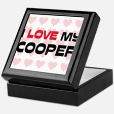 I Love My Cooper Keepsake Box