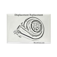 Displacement Replacement - Rectangle Magnet