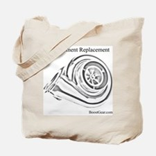 Displacement Replacement - Turbo Tote Bag