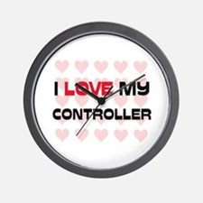 I Love My Controller Wall Clock