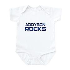 addyson rocks Infant Bodysuit
