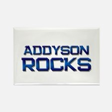 addyson rocks Rectangle Magnet