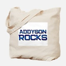 addyson rocks Tote Bag