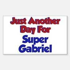 Gabriel - Another Day Rectangle Decal