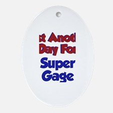 Gage - Another Day Oval Ornament
