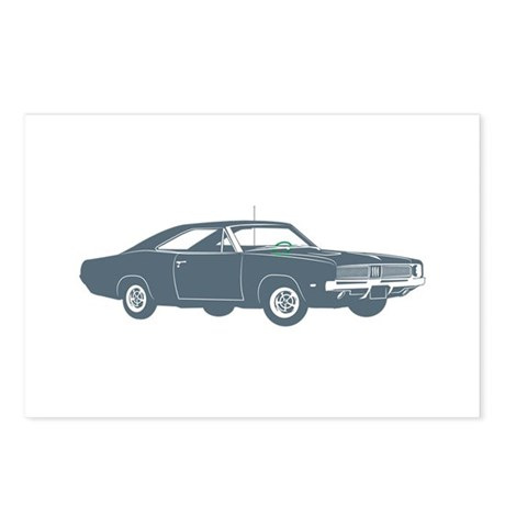1969 Dodge Hemi Charger Postcards (Package of 8)