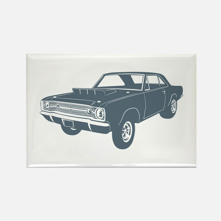 1968 Dodge Hurst Hemi Dart Rectangle Magnet
