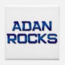 adan rocks Tile Coaster