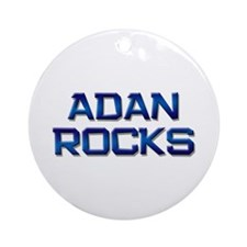 adan rocks Ornament (Round)