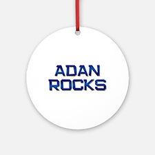 adan rocks Ornament (Round)