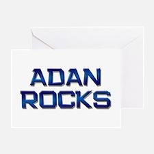 adan rocks Greeting Card