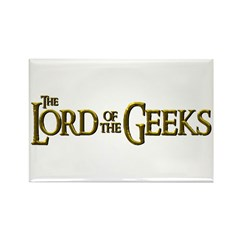 Lord of the Geeks Rectangle Magnet (10 pack)