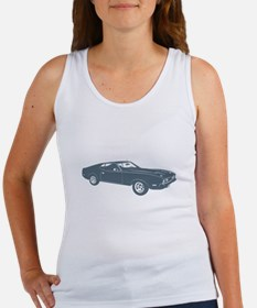 1971 Ford Mustang Mach 1 429 Women's Tank Top