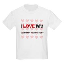 I Love My Consumer Psychologist T-Shirt