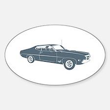 1970 Ford Torino Cobra 429 Oval Decal