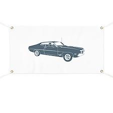 1970 Ford Torino Cobra 429 Banner
