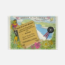 Order of the Locks (PANAMA CANAL) Rectangle Magnet