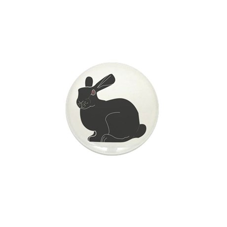 Death Bunny Mini Button