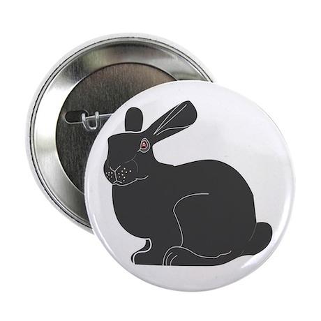 """Death Bunny 2.25"""" Button"""