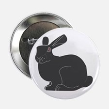 "Death Bunny 2.25"" Button (10 pack)"