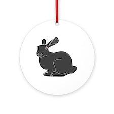 Death Bunny Ornament (Round)