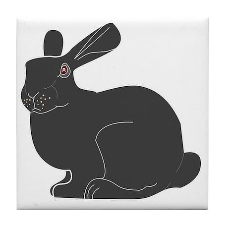 Death Bunny Tile Coaster
