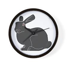 Death Bunny Wall Clock