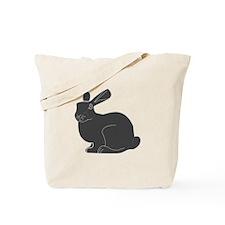 Death Bunny Tote Bag