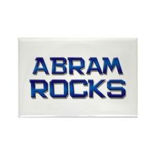 abram rocks Rectangle Magnet
