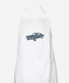 1968 Ford Mustang Coupe BBQ Apron
