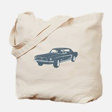 1968 Ford Mustang Coupe Tote Bag