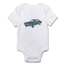 1968 Ford Mustang Coupe Infant Bodysuit