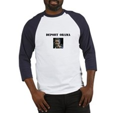 Funny Deport obama Baseball Jersey