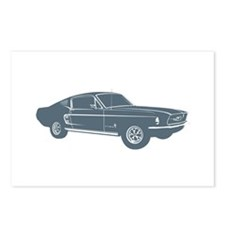 1967 Ford Mustang Fastback Postcards (Package of 8