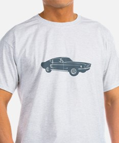 1967 Ford Mustang Fastback T-Shirt