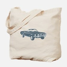 1967 Ford Mustang Convertible Tote Bag